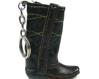 Cowboy Boot Key Chain Vintage Key Chain