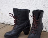 Kelsi Dagger Brooklyn lace up combat boot