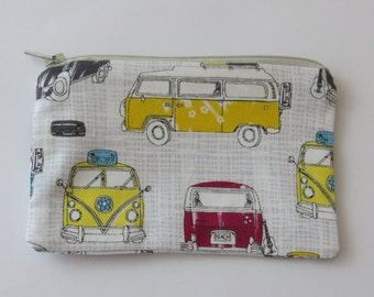 Coin purse pouch - VW Campervan