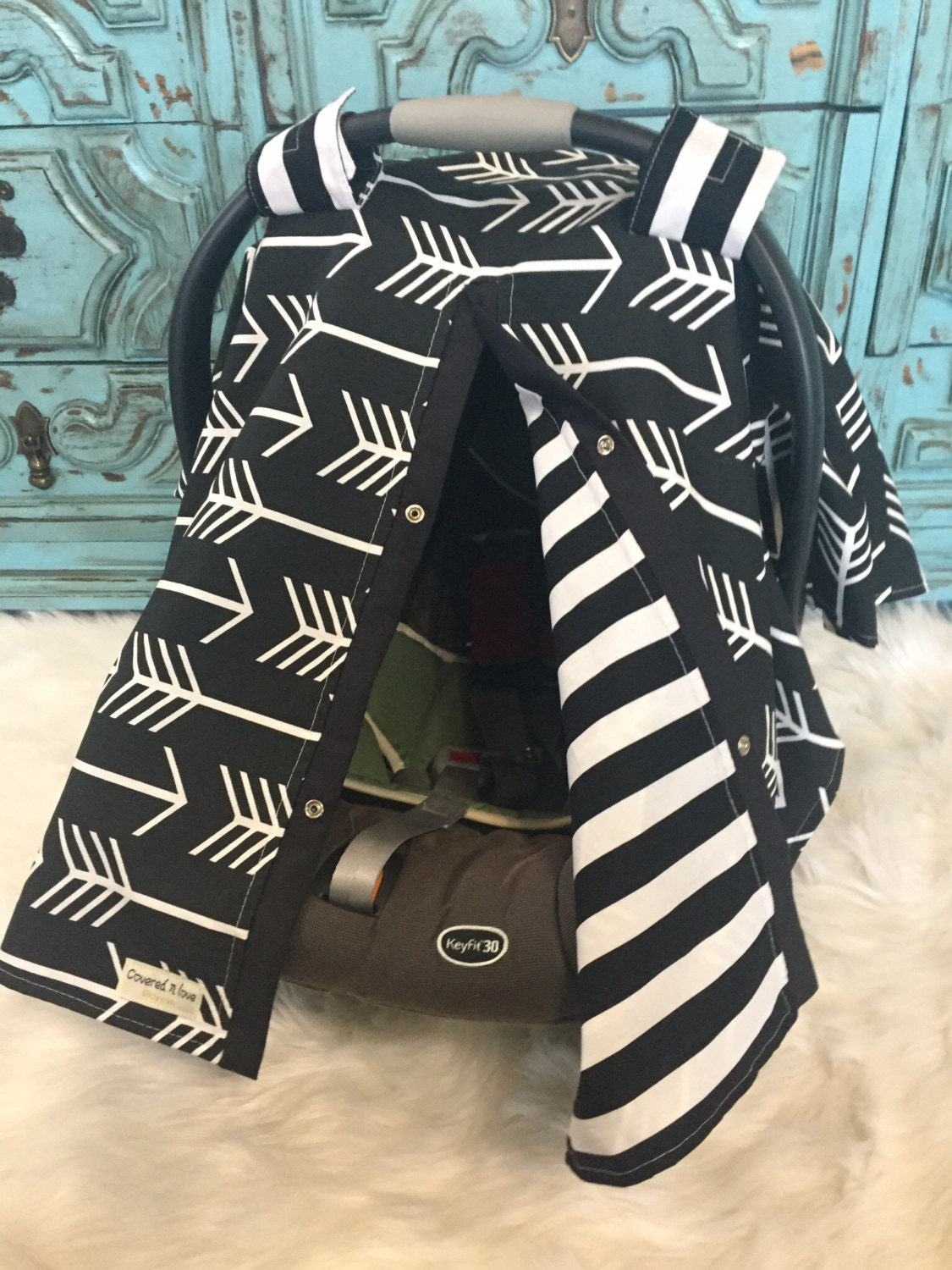 Car Seat Canopy Black And White Car Seat Cover Car Seat