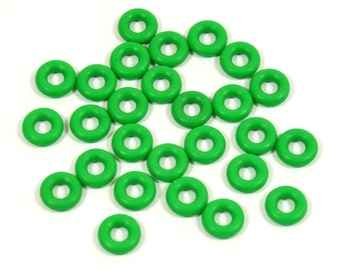 5mm Green Rubber O-Rings