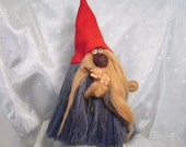 Collectible Vintage Ken Arensbak Troll Gnome Straw Doll by 5 Arts Studio, TN