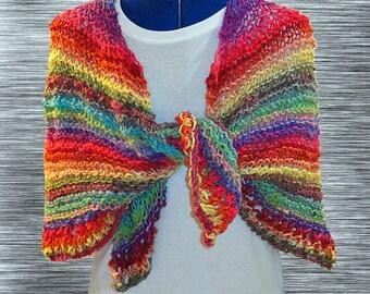 Knit Shawl Pattern, Easy Knitting Pattern, Easy to Knit Prayer Shawl Pattern, Circle of Love  Knit Prayer Shawl, Knit Patterns