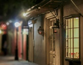 """New Orleans Art French Quarter Photograph. """"Pirate's Alley"""" Fine Art Travel Picture. Architecture. 8x10, 11x14, 16x20, 20x24"""