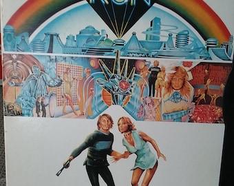 Vintage 1976 Original DVD Movie Logans Run Michael York Farrah Fawcett 23rd Century Futuristic Sci Fi Adventure Great Full Length Condition