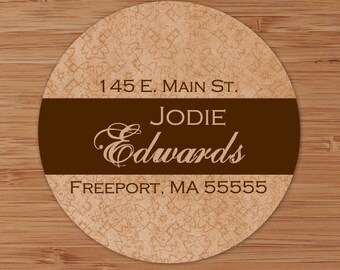 Clay Tapestry - Custom Address Labels or Stickers