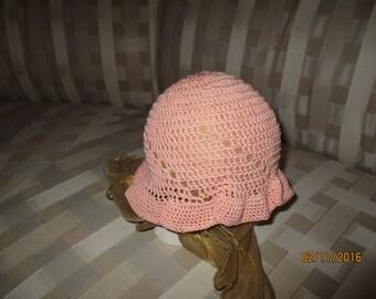 Filet Crochet Hats