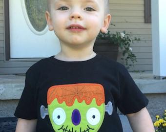 Baby Boys Halloween Shirt, Boys' Clothing, Boys Halloween Top, Baby Boy Halloween clothes, Boy Halloween Shirt, Lil Monster Halloween Shirt