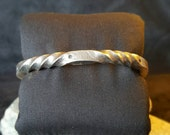 Stainless Steel Twisted Cuff