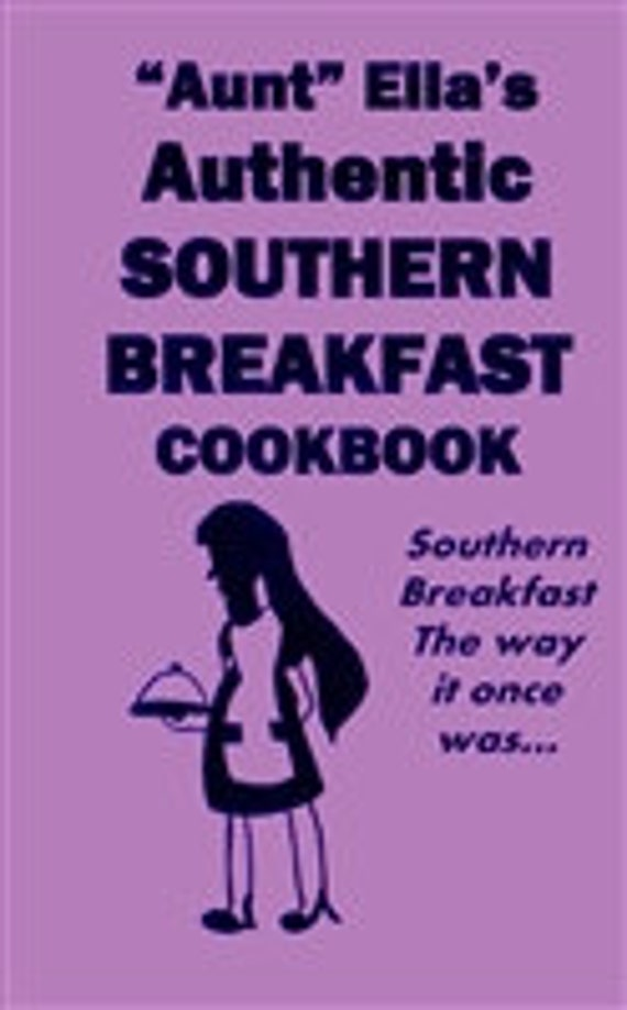 SOUTHERN BREAKFAST COOKBOOK south american purple in color
