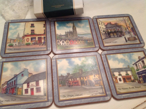 Pimpernel Irish Heritage Series Coasters Designed In Ireland