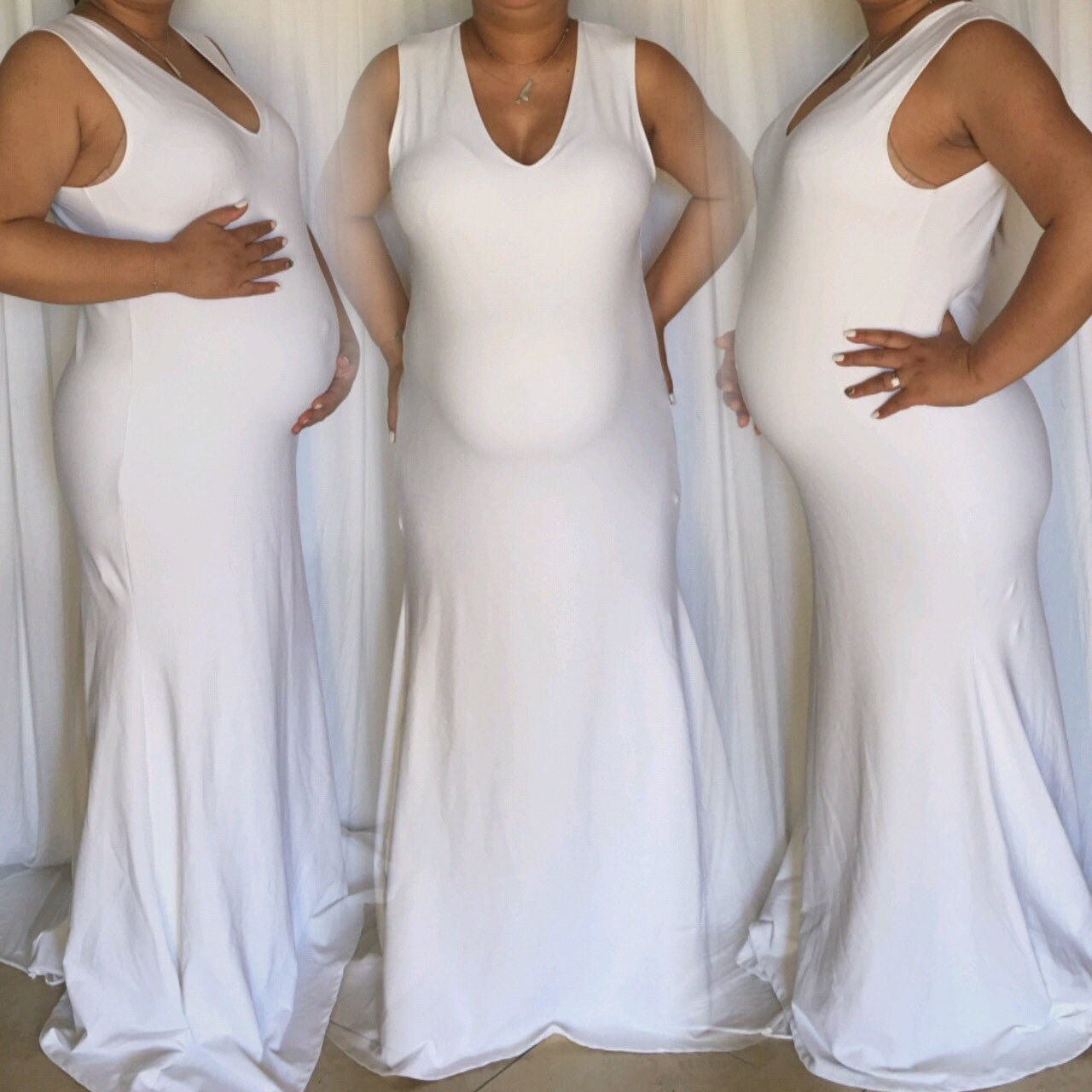 Maternity sleeveless fitted mermaid bottom dress maternity zoom ombrellifo Gallery