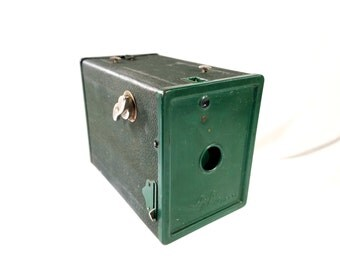 Agfa Ansco Box Camera No 2 - Green - 1940s