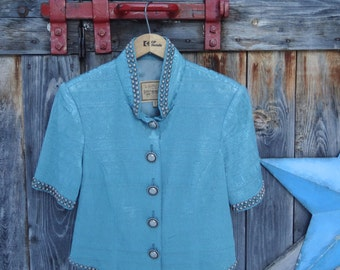 Double D, Ranch Wear, jacket or blouse, size small