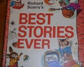 Richard Scarry's Best Stories Ever-1971 Hardback Look and Learn Vintage