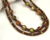 Arancini (beaded necklace)/ PDF file