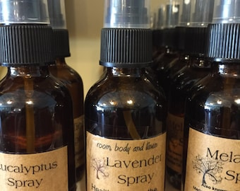 LAVENDER SPRAY--using pure therepeutic grade oils--for Body-Linen-Room