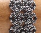 Instructions for Flatiron Bracelet   Beading Tutorial
