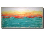 Art painting Jmjartstudio Original Painting 24 X 48 Inches ------- Subtle Changes  -----