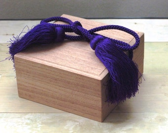 Treasure Box Kiri no Hako Paulownia Wooden Box