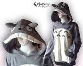 MADE TO ORDER My Neighbour Totoro Cosplay Costume hoodie