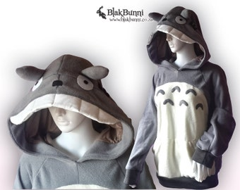 MADE TO ORDER My Neighbour Totoro Cosplay Costume hoodie