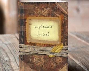 Explorers Journal - Notebook / Sketchbook