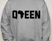Queen Royalty Crewneck Sweatshirt