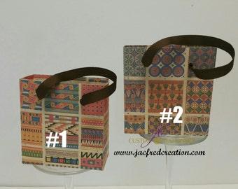 Egyptian Style/theme mini  favor bags