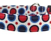 Patriotic Circles - Patriotic Dog Collar