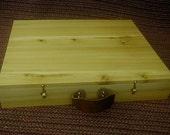 Reserved for Colleen custom Cedar box