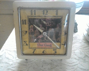 """Our Gang """"The Little Rascals"""" Alarm Clock 1929 EXTREMELY RARE"""