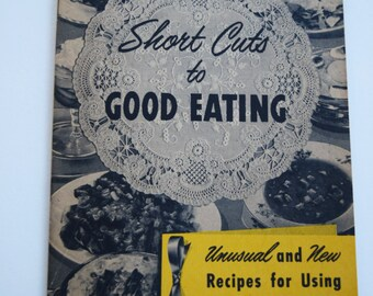 1940s KERR CANNING COOKBOOK Recipe Booklet Cook Book Pamplet Jam Jelly Labels Soup Meat Salad Fruit Instruction Method Paperback Vegetable