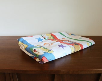 RUG RATS twin size flat sheet