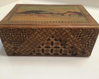 Japanese Keepsake Trinket Box