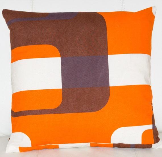 20x20 Marimekko Pillow Cover. Handmade. 50x50cm
