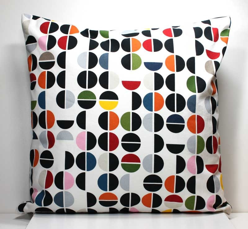 18 inch decorative throw pillow cover colorful dots ikea. Black Bedroom Furniture Sets. Home Design Ideas