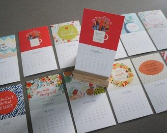 REDUCED: 2016 Cheerful Calendar Set