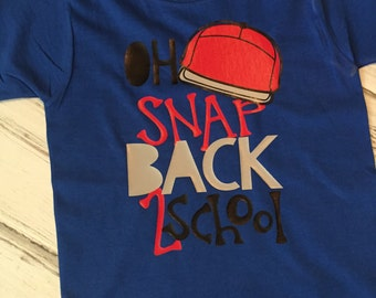 Oh Snap! Back to School Shirt