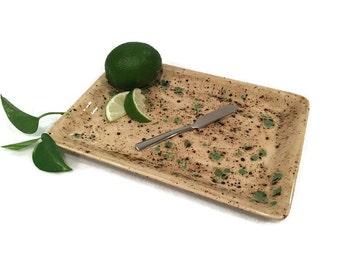 Serving Platter - Emerald Terrene - Earth Tones