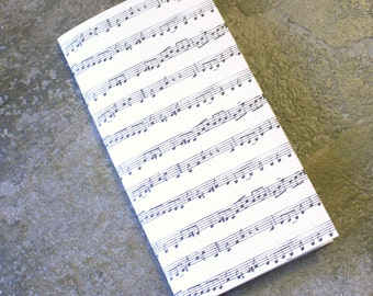 Blank Midori Fauxdori Travelers Notebook Insert Sheet Music Cover