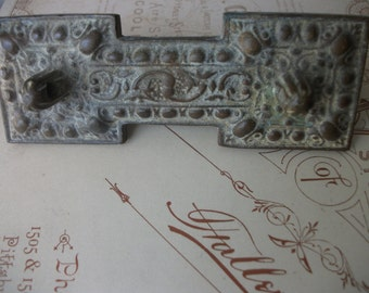 Antique Decorative Pull Plate