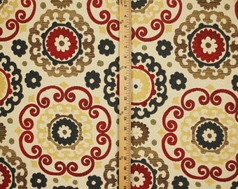Candy Shop Red Suzani Fabric
