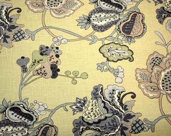 Leopold Oyster Richloom Floral Fabric