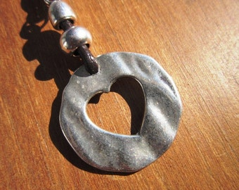 heart keychain, cute keychain, keychain, custom keychains, leather keychain, silver keychain, zipper charms, gift ideas, gift women, keyring