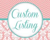 Custom Listing for Vikki Rose