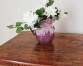 Lilac Vintage Vase