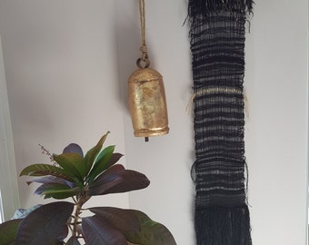 "Wallhanging  - ""Golden Threads"""