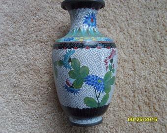 Antique Chinese Cloisonne Vase, Chinese Vase