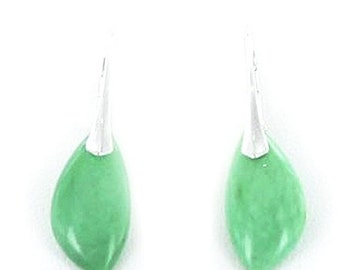 Jewelry Clearance Variscite Sterling Earrings Leverback Style